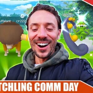 I FLEW TO NEW JERSEY FOR THIS! *FLETCHLING COMM* DAY - WAY BETTER THAN EXPECTED | Pokémon GO Vlog