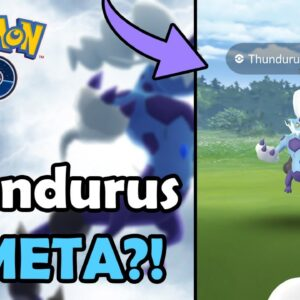 Thundurus (Therian) Is Now META In Pokémon GO?! (2021) | Move Pool Update | Electric Type Comparison