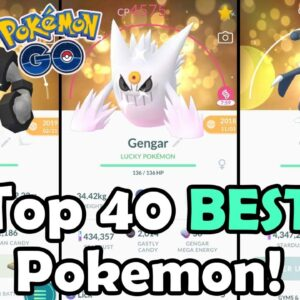 Top 40 BEST Pokemon To Power Up In 2021 In Pokemon GO! | Which Pokemon Are Worth Powering Up?!