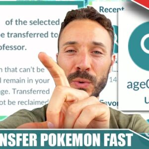 NEW UDPATE! HOW TO *TRANSFER POKÉMON* SUPER FAST! NEW FEATURE DISCOVERED | Pokémon GO 2021