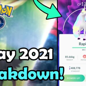 MAY 2021 Event Breakdown In Pokémon GO! | Research, Raids, Spotlight Hours, Community Day & MORE!