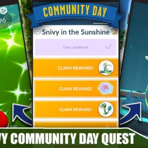 SNIVY SPECIAL RESEARCH QUEST LINE & REWARDS! IS IT WORTH $.99 ?! COMMUNITY DAY | POKÉMON GO