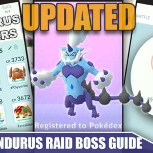 NEW MOVE POOL! THERIAN *THUNDURUS* COUNTER GUIDE! 100 IVs, MOVESET & WEAKNESS - UPDATED | Pokémon Go