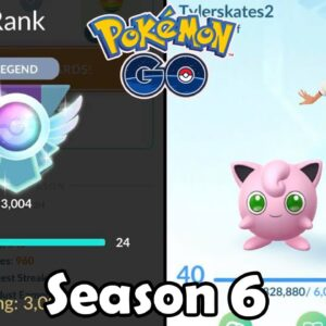 Hitting LEGEND Rank For The FIRST Time In Pokémon GO Battle League PvP (2021) | Season 6 | Ep. 49