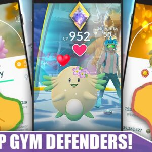 BEST GYM DEFENDERS - STACK YOUR GYMS TO LAST in 2021 - DEFENDER LIST | Pokémon GO