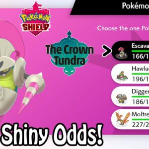 BEST SHINY ODDS! How To SHINY HUNT In Dynamax Adventures Mode | Pokemon Sword & Shield: Crown Tundra