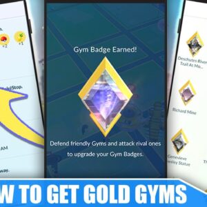 HOW TO GET *GOLD GYMS FAST* - KEY to FILL STOCK ITEMS FASTER | Pokémon GO