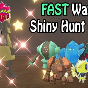 *Outdated* FAST Way To SHINY HUNT The Regis In Pokemon Sword & Shield: Crown Tundra | Location Guide