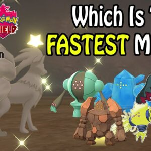 *Update* Which Method Is FASTER To SHINY HUNT The Regis In Pokemon Sword & Shield: Crown Tundra?!