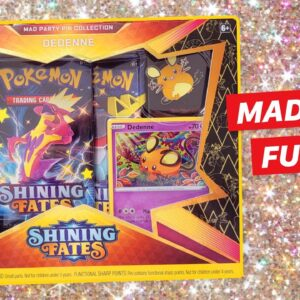 Mad Party Pin Collection - Shining Fates Pokémon Cards!