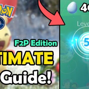 How To Level Up FAST In Pokemon GO! (2021) | Ultimate XP Guide For F2P Players! (Level 1 - 50 F2P)