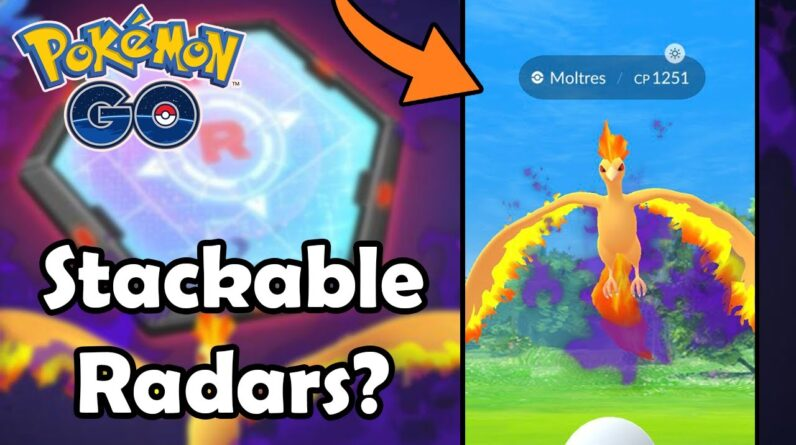 What Should You Do With Your STACKABLE Super Rocket Radars In Pokémon GO? (2021) | Shadow Mewtwo?
