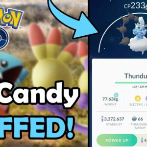 Niantic Finally BUFFED XL Candy In Pokémon GO! (2021) | New XL Candy Guaranteed Rates (Update)