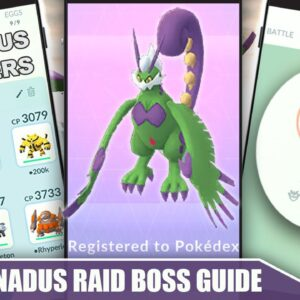 THERIAN *TORNADUS* COUNTER GUIDE! 100 IVs, MOVESET & WEAKNESS - THERIAN RAID BOSS | Pokémon Go