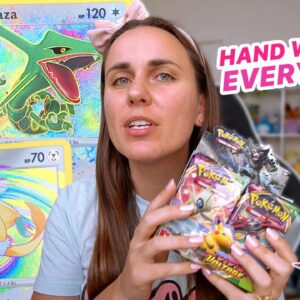 I WEIGHED EVERY PACK OF POKÉMON CARDS BY HAND! Vivid Voltage FULL Booster Box Opening