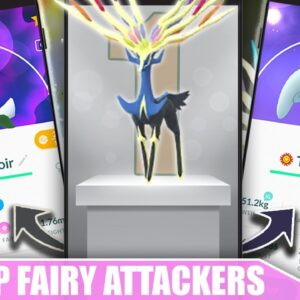 WHAT IF IT GETS CHARM? IS *XERNEAS* WORTH POWERING UP + PVP - BEST OF THE BEST ATTACKER | Pokémon GO