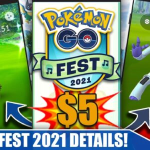 ONLY $5 & 8 NEW SHINIES! COMPLETE *GO FEST 2021* EVENT BREAKDOWN - BEST EVENT | Pokémon GO