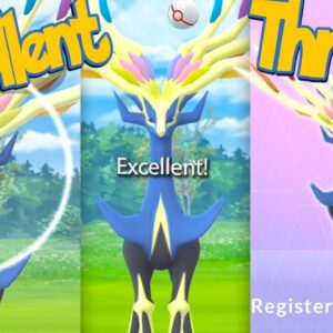 XERNEAS Excellent Throws EVERY TIME! How To Get Excellent Throws on XERNEAS | Pokémon Go