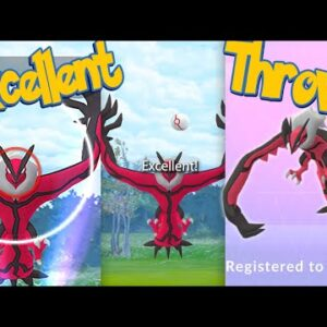 YVELTAL Excellent Throws EVERY TIME! How To Get Excellent Throws on YVELTAL | Pokémon Go