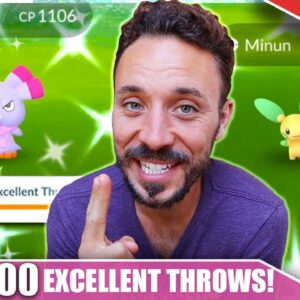 ROUND 2! 1,000 EXCELLENT THROWS in 7 HOURS! SMASHING MY FIRST RECORD - LEVEL 50 GRIND | Pokémon GO