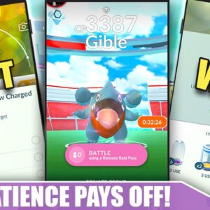 THE #1 WAY TO WIN PLAYING POKEMON GO! PATIENCE PAYS OFF! | Pokémon GO