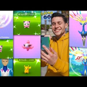 THE GREATEST EVENT SINCE THE KANTO TOUR! Catching XERNEAS in Pokémon GO!