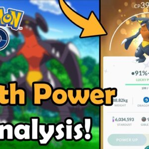 How Good Is Garchomp With Earth Power In Pokémon GO? (2021) | Meta Analysis (Ground) | Community Day