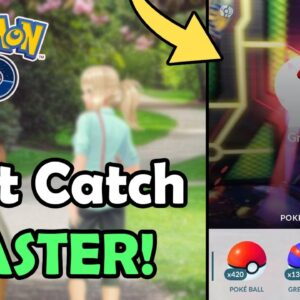 How To Use Fast Catch Trick FASTER Using AR In Pokémon GO! (2021) | Throwing Tutorial (Full Guide)