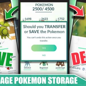 HOW TO *MANAGE YOUR POKÉMON STORAGE* - SAVE OR DELETE? BE READY FOR SUMMER 2021! | Pokémon GO