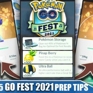 COMPLETE *GO FEST 2021* PREP & TIP GUIDE - BEST EVENT OF THE YEAR! 8 NEW SHINIES | Pokémon GO|