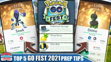 COMPLETE *GO FEST 2021* PREP & TIP GUIDE - BEST EVENT OF THE YEAR! 8 NEW SHINIES   Pokémon GO 