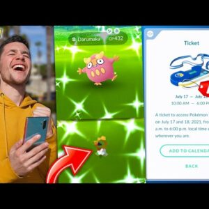 CATCHING ONE OF THE MOST RARE POKÉMON IN POKÉMON GO HISTORY…