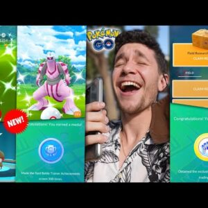 NEW AUGUST UPDATES AND EVENTS IN POKÉMON GO + CRAZY LUCKY CATCHES!