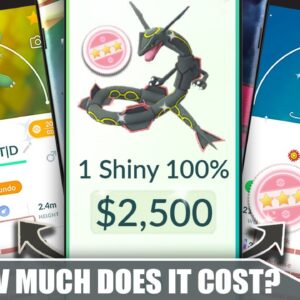 HOW MUCH DOES IT COST TO GET A *SHUNDO*?! THE SHINY 100% IV COST BREAKDOWN | Pokémon GO