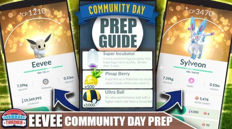 2 DAY EVENT! TOP TIPS to MAX *SHINY EEVEE* COMM DAY - SHINY EEVEE LUTION MOVES | POKÉMON GO