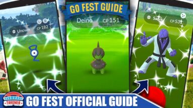 FINAL COUNTDOWN! *GO FEST 2021* TOP TIP GUIDE - CRAZIEST EVENT OF THE YEAR!   Pokémon GO 