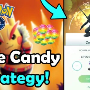 Use This Rare Candy STRATEGY To Power Up MORE Legendary Pokémon Effectively In Pokémon GO! (2021)