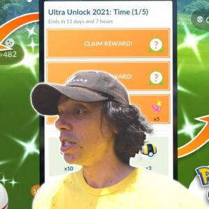 ULTRA UNLOCK RESEARCH & EVENT IN POKÉMON GO! Part 1: Time