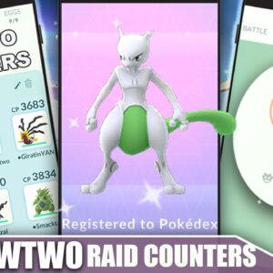 THE SHINY *MEWTWO* COUNTER GUIDE! 100 IVs, MOVESET & WEAKNESS - PSYCHIC RAID BOSS | Pokémon Go