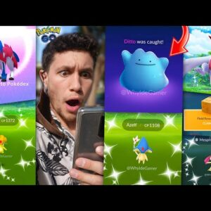 THE MOMENT WE'VE ALL WAITED FOR - WILD SHINY DITTO, NEW LEGENDARIES, NEW UPDATES & MORE!