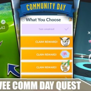 EEVEE SPECIAL RESEARCH QUEST LINE - *WHAT YOU CHOOSE* - DO YOU DO IT FOR $.99? COMM DAY | POKÉMON GO