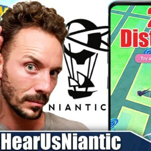 *HEAR US NIANTIC* - OUR OFFICIAL COMMUNITY STATEMENT on 2X DISTANCE REMOVAL | Pokémon GO