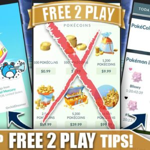 TOP *FREE TO PLAY* TIPS - STRATEGIES & FREE COINS TO HELP YOU WIN! | Pokémon GO