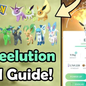 How To Evolve ALL Eevee Evolutions In Pokémon GO! | Eeveelution Guide (With & Without Name Trick)
