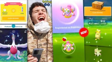 CATCHING * HOOPA * IN POKÉMON GO + INCENSE DAY EVENT… Fun or BUST?