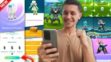 NEW FORM CHANGE FEATURE, ZARUDE EVENT, NEW POKÉMON - Pokémon GO is Getting EXCITING!