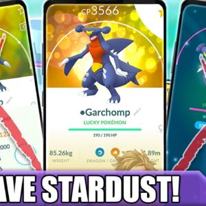 HOW TO *SAVE STARDUST* POWERING UP POKÉMON! GET A STRONG TEAM WITHOUT WASTING STARDUST | Pokémon GO