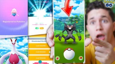 NEW MYTHICAL ZARUDE IN POKÉMON GO + NEW UPDATE EVENT HUNTING!