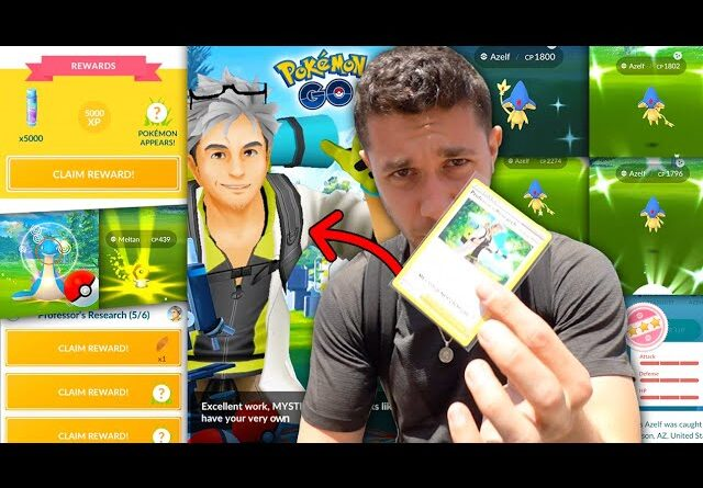 THE RAREST RESEARCH EVER RELEASED…. What Do You Get? (Pokémon GO)