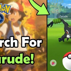 Use This TRICK To Make 5 Great Throws In A Row In Pokémon GO! | Search For Zarude | Meta Analysis
